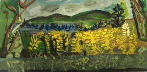 """""""yellow ferns"""" Jeremy Oberle"""