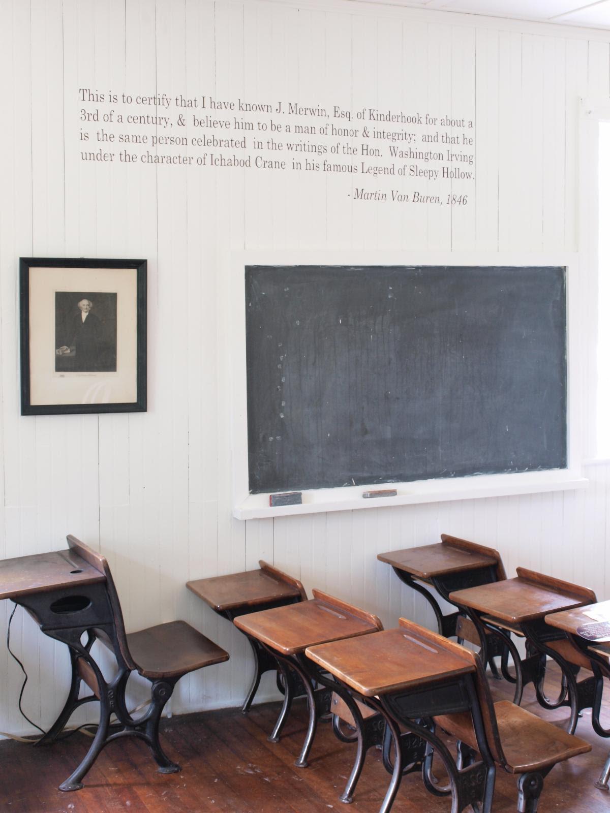 Ichabod Crane Schoolhouse Interior.jpg