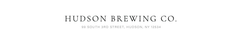 Hudson Brewing Company – Country Western Night, Jan 25